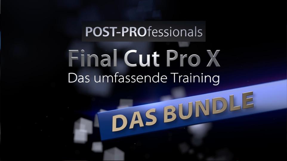 FCPX Videotraining Bundle