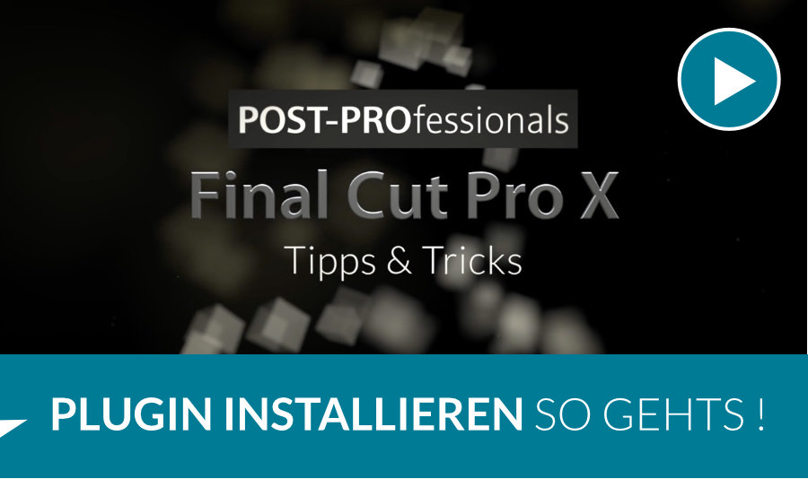 Plugin in Final Cut Pro X