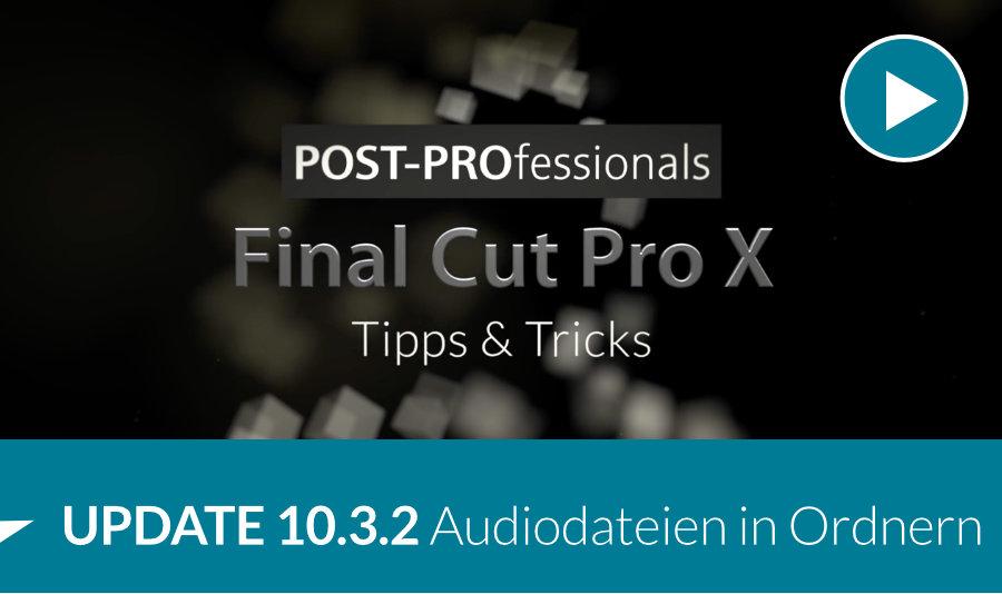 Audiodateien in Final Cut Pro