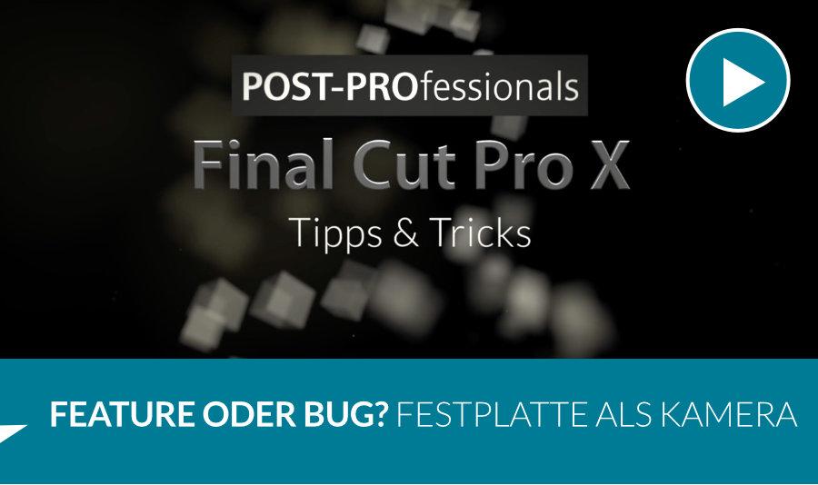 Final Cut Pro X Tipps & Tricks