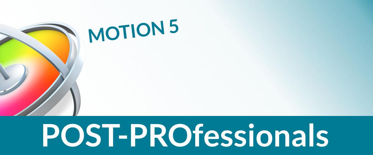 Motion 5 für FCPX Cutter