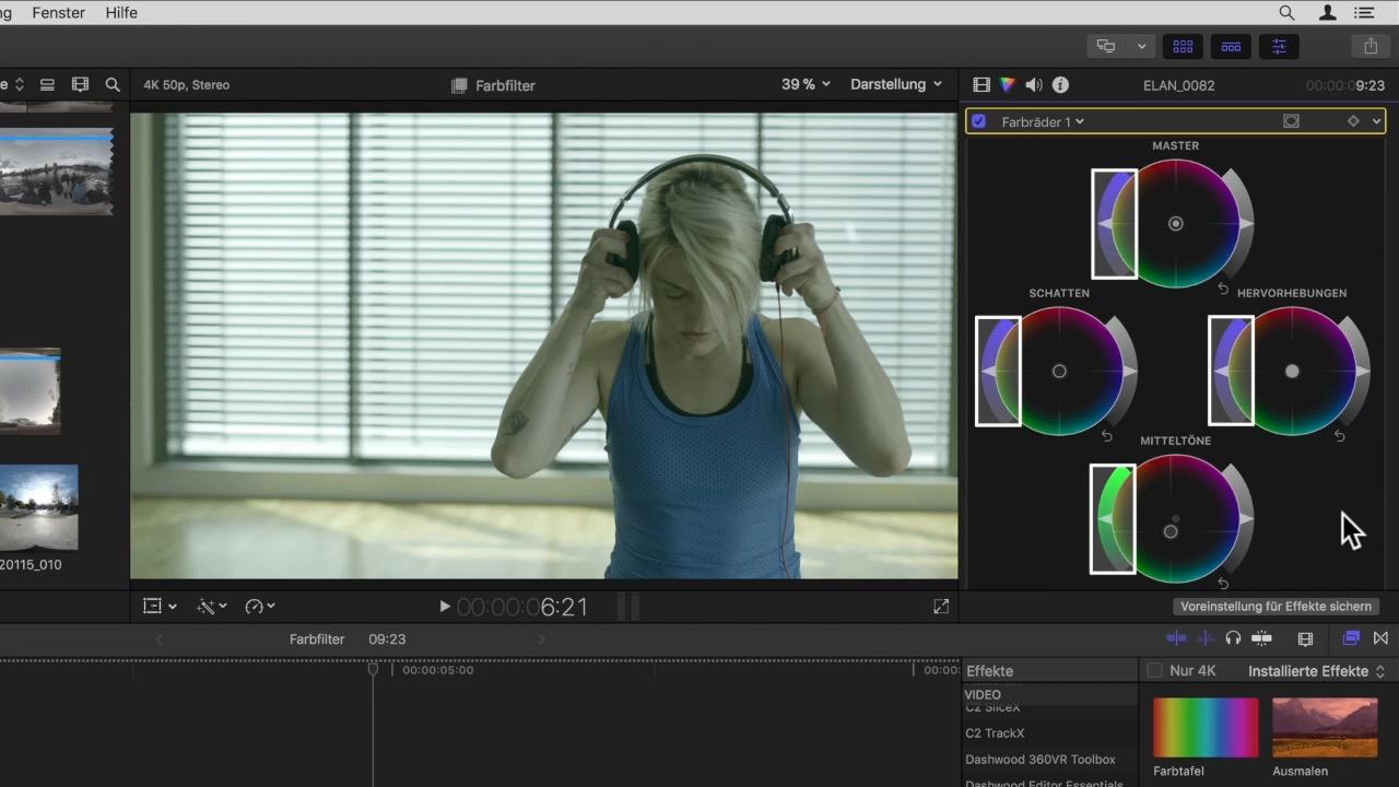 Gratis-Video: Die neue Farbkorrektur in Final Cut Pro X 10 4